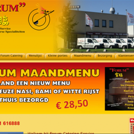 Website Forum Catering Service