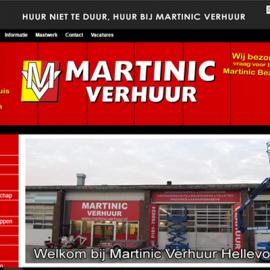 Website Martinic Verhuur